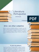 Literatura Portuguesa ; Introdução