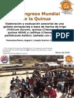 Galletas Quinua, Kañihua y Trigo