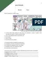 prova de português 6° ano 2015 3° bimestre