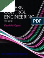 Modern Control Engineering 5th Edition Ogata