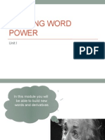 Building Word Power