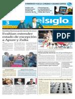Edición Impresa El Siglo 03-09-2015