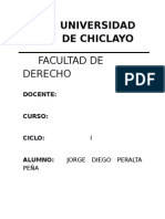 Universidad de Chiclayo h