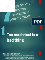 picture presentation - making an effective powerpoint