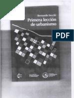 Primera Lección de Urbanismo