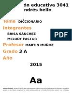 DICCIONARIO DE PERSONA FAMILIA Y RELACIONES HUMANAS
