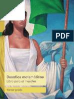 Matem_ticas_-Libro Para El Maestro Tercer_Grado
