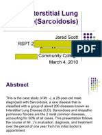 Interstitial Lung Disease(Sarcoidosis)