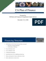 LCCCA Plan of Finance