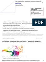 Adsorption, Absorption and Desorption — What's the Difference_ - Aug 24 2014 10_32 AM - Breaking News - Chromatography Today