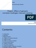 Effect of Galvanic Corrosion.hydrogen Induced Cracking.