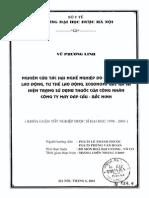 Nghiên Cứu Tác Hại Nghề Nghiệp Do Môi Trường Lao Động, Tư Thế Lao Động, Ecgonomi Gây Ra Và Hiện Trạng Sử Dụng Thuốc Của Công Nhân Công Ty May Đáp Cầu - Bắc Ninh