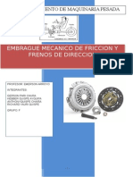Embrague de Friccion Lab Transmisiones