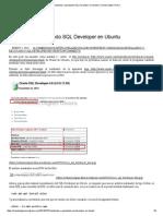 Instalando y Ejecutando SQL Developer en Ubuntu _ Orlando Olguín Olvera