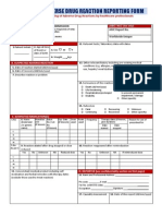 A Dr Reporting Form