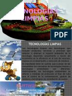 TECNOLOGÍAS LIMPIAS