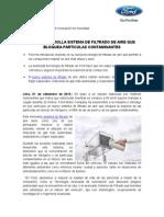 NP_Ford Desarrolla Sistema Para Bloquear Particulas Contaminantes