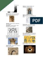 Diccionario Arquitectónico de elementos históricos
