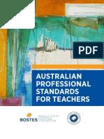 australian professional standards for teachers gudielines document