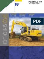 Mengenai Excavator PC 210LC-10 Komatsu