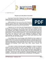 Press Release_PH Gears Up for Dive Resort Travel 2015