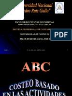 Costos ABC # 1