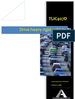 TLIC407D - Drive Heavy Rigid Vehicle - Learner Guide