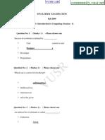 VU Final Term Papers