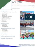 BIFS Newsletter, 2015-08-28 (English)
