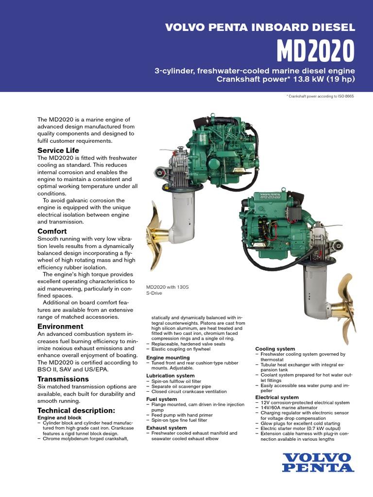 md2020 diesel engine engines rh scribd com Volvo Penta Workshop Manual Volvo Penta Shop Manual