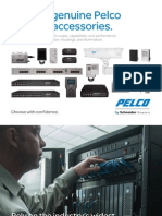 Pelco Ip Video Accessories Brochure