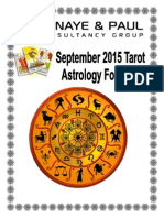 September Astro Forecast 2015