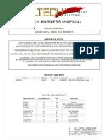 Haltech Plugin NISSAN S14 (H8PS14) Rev C Installation Notes