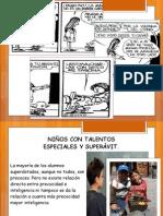 NIÑOS SOBREDOTADOS
