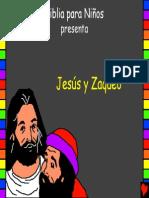 Jesus and Zaccheus Spanish PDA