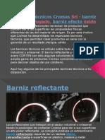 Barnices Técnicos Cromas Srl - Barniz Arrugado, Barniz Efecto Óxido