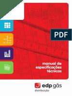Manual Especificações Técnicas GAS_EDP