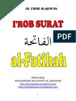 i'Rob Surat Al-fatihah