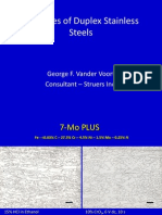 DuplexStainlessSteels Examples