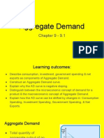 chapter 9 - 9 1 - aggregate demand  1