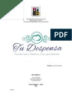FEP TuDespensa C.andrade M.martinez F.pizarro