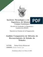 Análisis Comparativo de Métodos de Reconocimiento de Señales de Tránsito