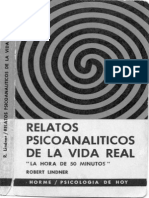 Robert Linder - Relatos Psicoanaliticos de La Vida Real