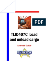 TLID407C - Load and Unload Cargo - Learner Guide