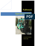 TLID1007C - Operate a Forklift - Learner Guide