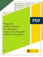Protocolo Valoracion Riesgo Violencia de Género