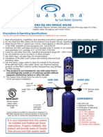 Rhino Whole House Water Filter Install Instructions