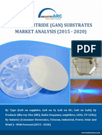Demand for Large diameter substrates to steer the GaN Substrates Market to over $4 billion by 2020