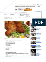 Recipes Fish Cutlets and Spicy Fish Curry - Rediff.com Get Ahe