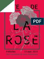 Fete de La Rose 2015